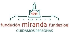 Celia Gómez, Rafael Carriegas, Leire Acha e Iván Llorente de Fundación Miranda