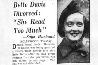 Bette Davies se divorcia: