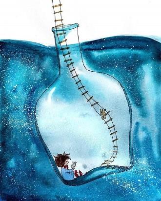 La soledad no existe si estas en compañía de un buen libro