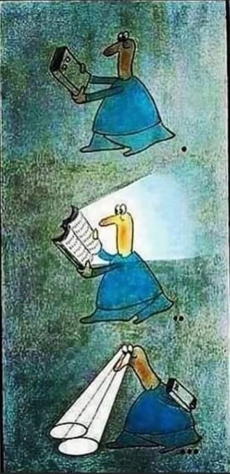 No hay mejor herramienta para salir de la oscuridad que un libro