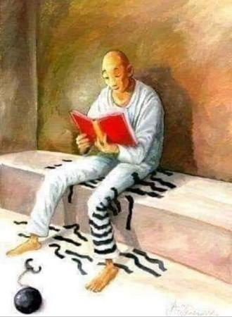 Un buen libro puede ser terapéutico, puede liberarte de tus cadenas