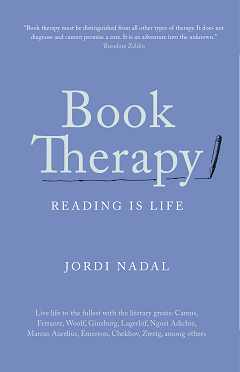 Booktherapy. Reading is life.