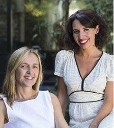 Heidi Beroud-Poyet y Laura Beltran