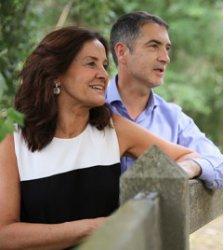 Carlos Goñi y Pilar Guembe